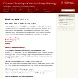 Educational Technologies: Center for Scholarly Technology