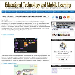 Top 5 Android Apps for Teaching Kids Coding Skills