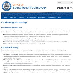 Funding Digital Learning - Office of Educational Technology