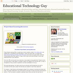 Project Based Learning Resources