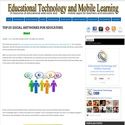 Top 36 Social Networks for Educators