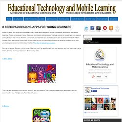 8 Free iPad Reading Apps for Young Learners