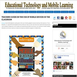 Teachers Guide on The Use of Mobile Devices in The Classroom