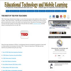 The Best of TED for Teachers