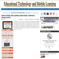 Educational Technology and Mobile Learning: Samrl model