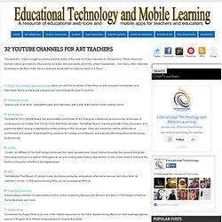 32 YouTube Channels for Art Teachers