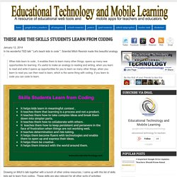 Educational Technology and Mobile Learning: These are The Skills Students Lea...