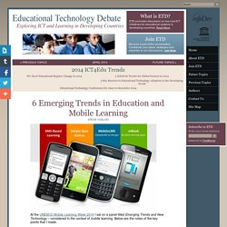 6 Emerging Trends in Education and Mobile Learning