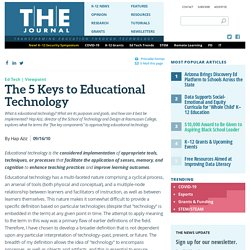 The 5 Keys to Educational Technology