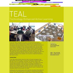 Educational Transformation through Technology at MIT - TEAL