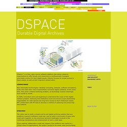 DSPACE - Educational Transformation through Technology at MIT
