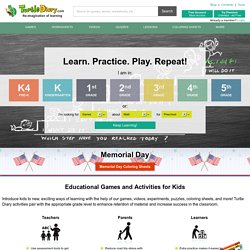 Kids Educational Computer Games, Interactive Activities & Online Learning Games By TurtleDiary