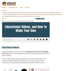 Educational Videos Maker Company