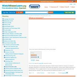 WatchKnowLearn Educational Videos