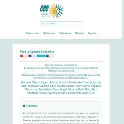 Para la Agenda Educativa - Centro de Estudios Educativos A.C.
