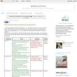 Uso de redes sociais na educação