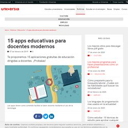 15 apps educativas para docentes modernos