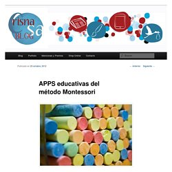 APPS educativas del método Montessori