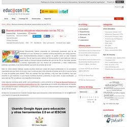Buenas prácticas educativas relacionadas con las TIC (I)