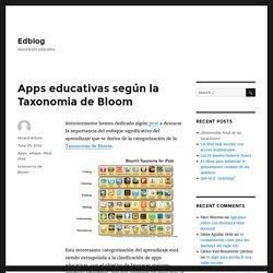 Apps educativas según la Taxonomia de Bloom – Edblog