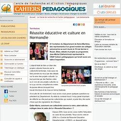 Réussite éducative et culture en Normandie