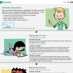 Activités éducatives - Desjardins