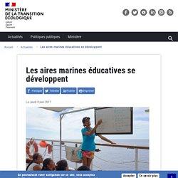 Les aires marines éducatives se développent