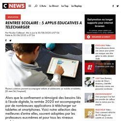 Rentrée scolaire : 5 applis éducatives à télécharger