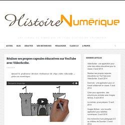 Réaliser ses propres capsules éducatives sur YouTube avec VideoScribe.