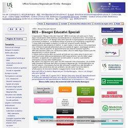 BES – Bisogni Educativi Speciali « MIUR USR-ER Direzione Generale