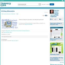 El Blog Educativo - ineveryCREA Argentina