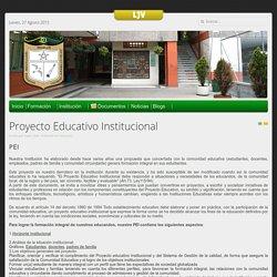 Proyecto Educativo Institucional - lucrecio