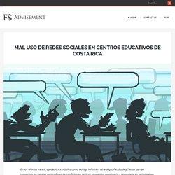 Mal uso de redes sociales en centros educativos de Costa Rica