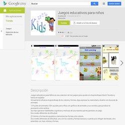 Juegos educativos para niños - Aplicaciones en Android Market