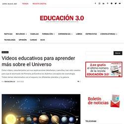Vídeos educativos para aprender más sobre el Universo