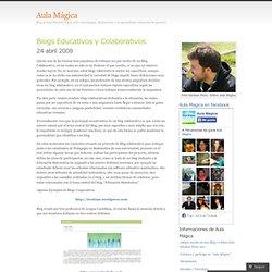 Blogs Educativos y Colaborativos