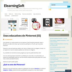 Usos educativos de Pinterest [ES]