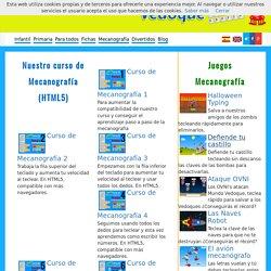 - Juegos educativos - Curso de mecanografía gratis