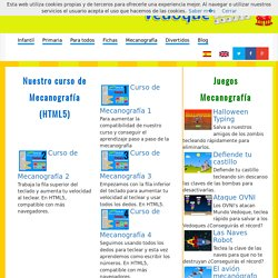 Juegos educativos - Curso de mecanografía gratis