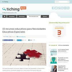 15 recursos educativos para Necesidades Educativas Especiales