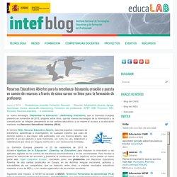 Recursos Educativos Abiertos para la enseñanza: búsqueda, creación y puesta en común de recursos a través de cinco cursos en línea para la formación de profesores