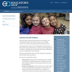 Educator's Ally for Job Seekers