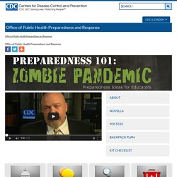 Office of Public Health Preparedness and Response - Learning