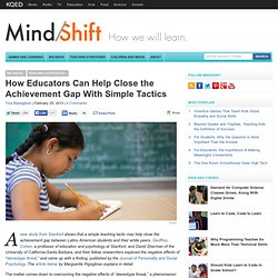 How Educators Can Help Close the Achievement Gap With Simple Tactics