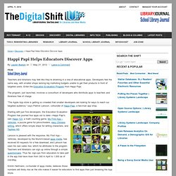 Happi Papi Helps Educators Discover Apps