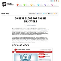 50 Best Blogs for Online Educators