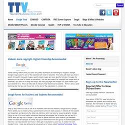 Google Tools For Educators