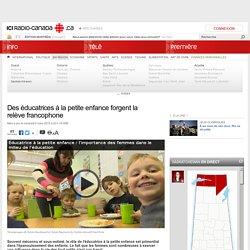 Des éducatrices à la petite enfance forgent la relève francophone