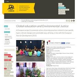 Educazione globale e giustizia ambientale