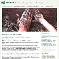 Educazione ambientale e formazione - Panta Rei